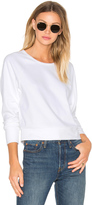 James Perse Fleece Dolman Raglan Pullover