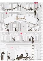 Harrods Pink Balloons A5 Notebook