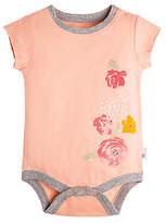 Baby Falling Flowers Organic Cotton Bodysuit