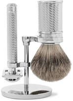 Baxter of California Three-piece Shaving Set - Silver
