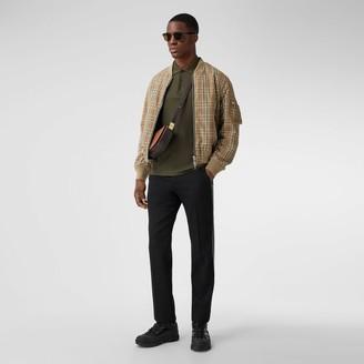Burberry Reversible Check Technical Cotton Bober Jacket