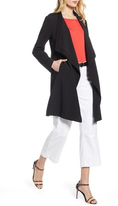 Halogen Drape Front Lightweight Jacket