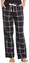 Sleep Sense Flannel Plaid Sleep Pants