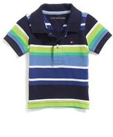Tommy Hilfiger Final Sale- Multi Stripe Polo