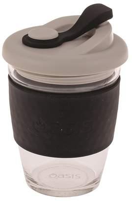 Oasis Eco-Cup Borosilicate Glass Black 340ml
