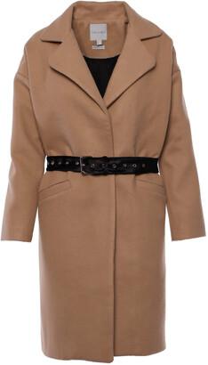 BEIGE Imaima Wool cocoon coat In