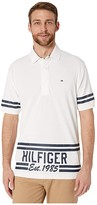 Tommy Hilfiger Adaptive Custom Fit 1985 Polo (Bright White) Men's Clothing