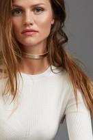 Dynamite Metal Choker Necklace