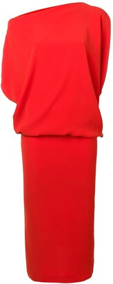 Poiret Draped Asymmetric Dress
