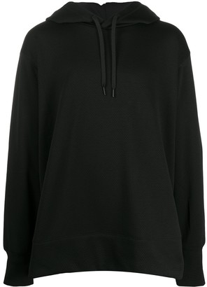 Y-3 Perforated Drawstring Hoodie