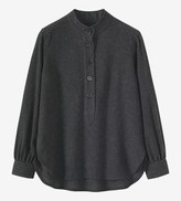 Toast Gauzy Wool Shirt