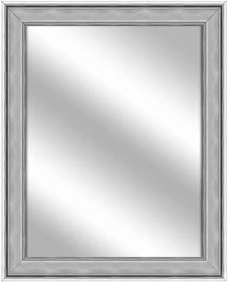 PTM Images Over the sink Vanity Mirror, Stainless Silver, 26.75x32.75