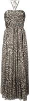 Zimmermann leopard print midi dress