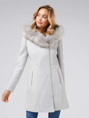 Ever New Prue Petite Hooded Coat