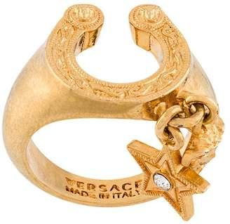 Versace Rodeo horseshoe-shaped ring