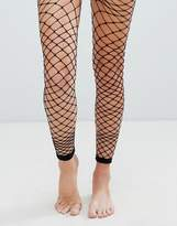 Asos Oversized Footless Fishnet Tights