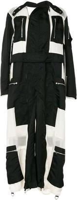 Sacai Zip-Detail Coat