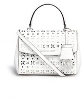 Michael Kors 'Ava' extra small perforated leather crossbody bag