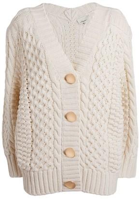 3.1 Phillip Lim Cable-Knit Cardigan