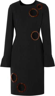 Burberry Framed Cut-Out Shift Dress