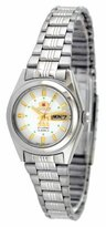 Orient #BNQ1X001W Women's Tri Star White Dial Automatic Watch