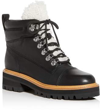 Marc Fisher Idella Shearling Hiker Boots - 100% Exclusive