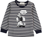 Simple Popeye Stripe T-Shirt