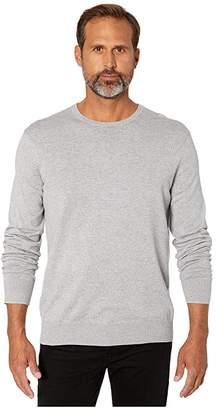 Calvin Klein Long Sleeve Crew Neck Cotton Silk