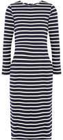 J.Crew Chloe Striped Cotton-jersey Dress