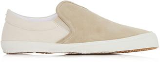Maison Margiela Hurricane Two-Tone Suede Sneakers
