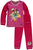 Disney Girls Toddlers Minnie Mouse Snuggle Fit Pajamas Age 1 to 4 Years