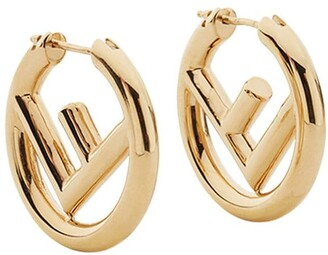 Fendi Logo Hoops
