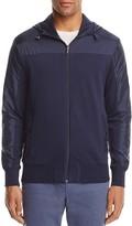 Michael Kors Zip Hoodie Knit Jacket