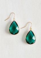 NOVA INC. Receiving Drop Honors Earrings in Green