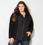 Avenue Miter Quilted Fleece Jacket