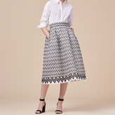 Maje Lace midi skirt