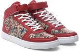 Anna Leather Hi-Top Sneaker