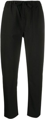 Semi-Couture Cropped Slim-Fit Trousers