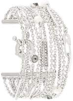 Karl Lagerfeld multiple chain bracelet