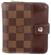 b3e5f0b849b52 Louis Vuitton Damier Ebene Compact Zippé Wallet. Pre-owned