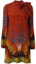 Valentino 'Volcano' print dress