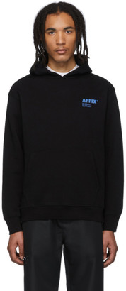 AFFIX SSENSE Exclusive Black Logo Hoodie