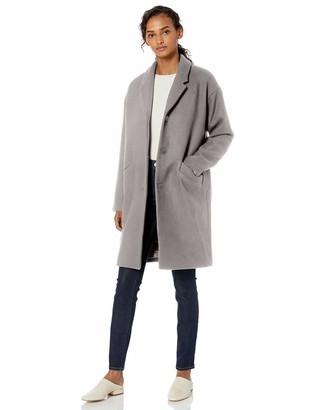 Daily Ritual Amazon Brand Women's Wool Cocoon Coat