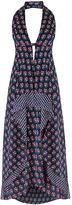 Diane von Furstenberg Leyland Silk Halter Dress