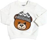 Moschino Bear Printed Cotton Sweatshirt