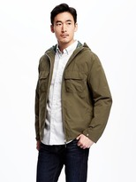 Old Navy Mesh-Lined Hooded Anorak for Men