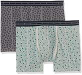 Scotch & Soda Men's All-Over Bedruckt Boxer Shorts,pack of 2