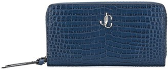 Jimmy Choo Pippa embossed wallet