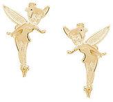 Disney Tinker Bell Stud Earrings, 14K Gold