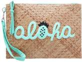 sweet deluxe ALOHA Clutch brown